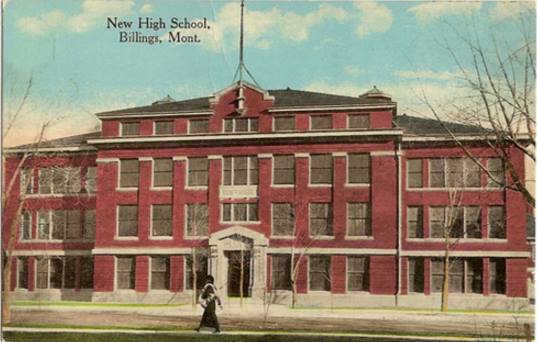 1914 Billings High School